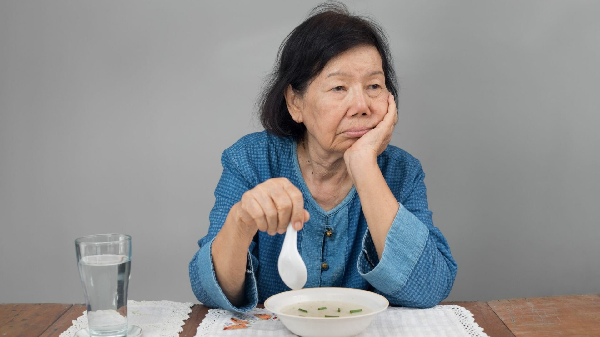 How does aging affect Appetite?